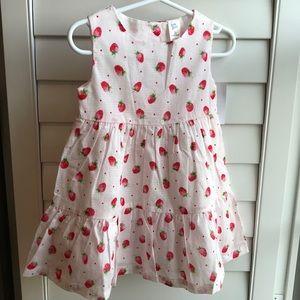 NWT- strawberry 🍓 dress 2T